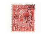 Sellos del Mundo : Europa : Reino_Unido : one penny