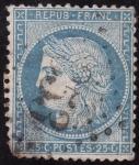 Sellos del Mundo : Europa : Francia : REPUBLICA FRANCESA -CÉRÈS