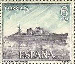 Sellos del Mundo : Europa : España : homenaje a la marina española