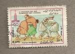 Sellos del Mundo : Asia : Afganistán : Juegos Olimpicos Moscú 1980