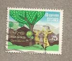 Sellos del Mundo : Africa : Sri_Lanka : Gam Udawa 86