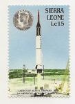Sellos del Mundo : Africa : Sierra_Leona : 1° Astronauta en el espacio