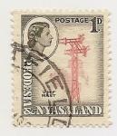Sellos de Europa - Islandia -  Rhodesia & Nyasaland