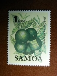 Sellos del Mundo : Oceania : Samoa_Occidental : Citricos Limon
