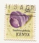Sellos de Africa - Kenya -  Janthina Globosa