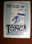 Sellos del Mundo : Oceania : Tonga : 75th anniversary of scouting