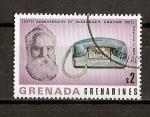 Sellos del Mundo : America : Granada : Centenario del primer enlace telefonico.