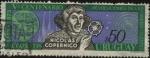 Sellos de America - Uruguay -  Nicolás Copernico. 5to centenario de las Revoluciones de las Órbitas Celestes.