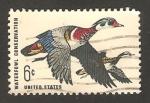 Sellos de America - Estados Unidos -  protección a la caza de los animales de agua, patos