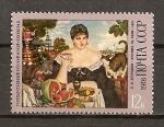 Sellos de Europa - Rusia -  Centenario del nacimiento del pintor B.M. Kustodiev.