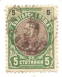 Sellos de Europa - Bulgaria -  prince ferdinand I