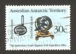 Sellos del Mundo : Oceania : Territorios_Antárticos_Australianos : 61 - 75 anivº de la expedición al Polo Sur
