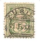 Sellos de Europa - Suiza -  correo terrestre