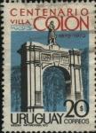 Sellos de America - Uruguay -  100 años de Villa Colón en Montevideo.