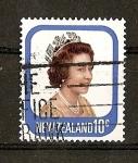 Sellos de Oceania - Nueva Zelanda -  Serie Basica / Isabel II