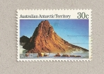 Sellos del Mundo : Oceania : Territorios_Antárticos_Australianos : Monte Coates