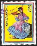 Sellos del Mundo : America : Paraguay : TRAJE TIPICO