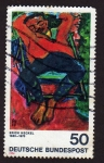 Sellos de Europa - Alemania -  Erich Heckel  Impresionistas alemanes Serie de 2