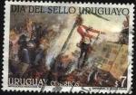 Sellos de America - Uruguay -  Día del sello uruguayo.