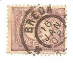 Sellos de Europa - Holanda -  correo terrestre