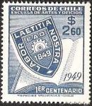 Sellos de America - Chile -  ESCUELA DE ARTES Y OFICIOS