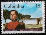 Sellos del Mundo : America : Colombia : Bicentenario Antonio Ricaurte