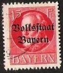 Sellos de Europa - Alemania -  BAYERN - BOLFSFTAAT BAYERN