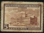 Sellos de America - Uruguay -  Palacio Legislativo en Montevideo.