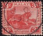 Sellos del Mundo : Asia : Malasia : tigre malayo
