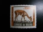 Sellos del Mundo : America : Bolivia : Fauna en peligro