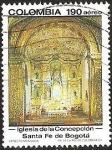 Sellos de America - Colombia -  IGLESIA DE LA CONCEPCION - SANTA FE DE BOGOTA