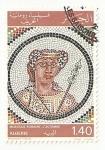 Sellos del Mundo : Africa : Argelia : mosaico romano 'El otoño'