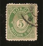 Sellos del Mundo : Europa : Noruega : correo terrestre