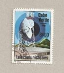 Sellos de Africa - Cabo Verde -  Telecomunicaciones