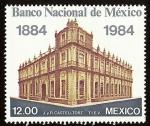 Sellos del Mundo : America : México : Centenario del Banco Nacional de México