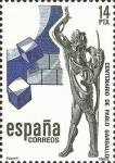 Sellos de Europa - España -  centenario del nacimiento del escultor pablo gargallo