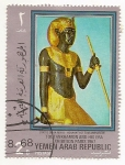 Sellos de Asia - Yemen -  Tuntankamon