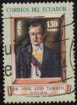 Sellos del Mundo : America : Ecuador : JOSE LUIS TAMAYO(Abogado, politico y expresidente. )