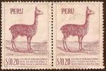 Sellos del Mundo : America : Perú : Vicuña Peruana