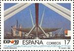 Sellos del Mundo : America : España : EXPOSICION UNIVERSAL DE SEVILLA.EXPO92