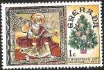Sellos del Mundo : America : Granada : CHRISTMAS  - CEILING PANEL C 1130 A. D