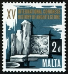 Sellos del Mundo : Europa : Malta : MALTA - Templos Megaliticos de Malta