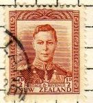 Sellos de Oceania - Nueva Zelanda -  GeorgeVI