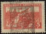 Sellos de America - Argentina -  El 6 de septiembre de 1930, Militares comandados por el general José Félix Uriburu y Agustín P. Just