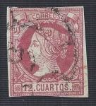 Sellos del Mundo : Europa : España : Isabel II. - Edifil 53