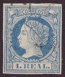 Sellos del Mundo : Europa : España : Isabel II. - Edifil 55