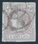 Sellos del Mundo : Europa : España : Isabel II. - Edifil 56