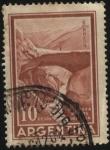Sellos de America - Argentina -  Puente del Inca, formaciòn rocosa natural sobre el río Las Cuevas, en la provincia de Mendoza.