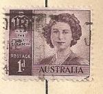 Sellos del Mundo : Oceania : Australia : Reina Isabel II