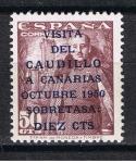 Sellos del Mundo : Europa : España : Edifil  1083 A  Visita del Caudillo a Canarias.